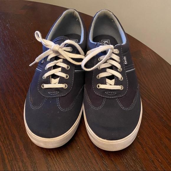 Keds Blue Ortholite Sneakers Size 8